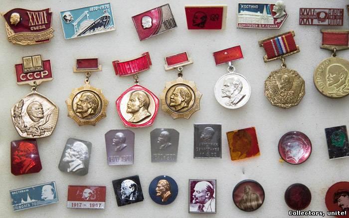 коллекция значков
